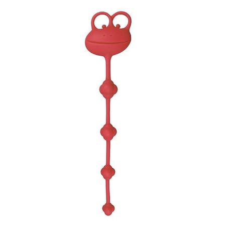 Plug Com Nódulos Massageadores Psyche's (5759) - Vermelho