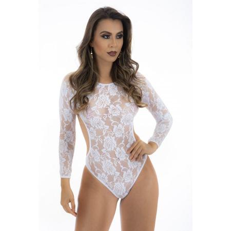 *body Escandalo - (ps8077) - Branco