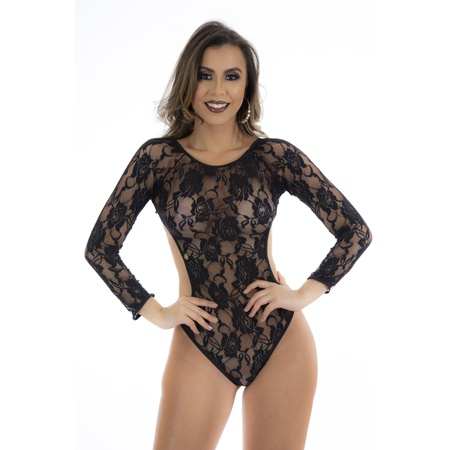*body Escandalo - (ps8077) - Preto