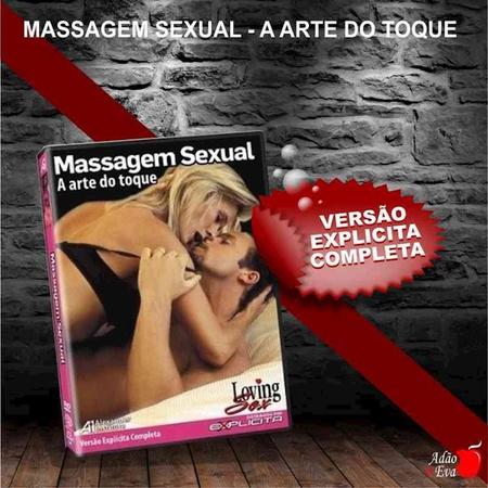 DVD Massagem Sexual A Arte Do Toque (LOV01 - ST282) - Padrão