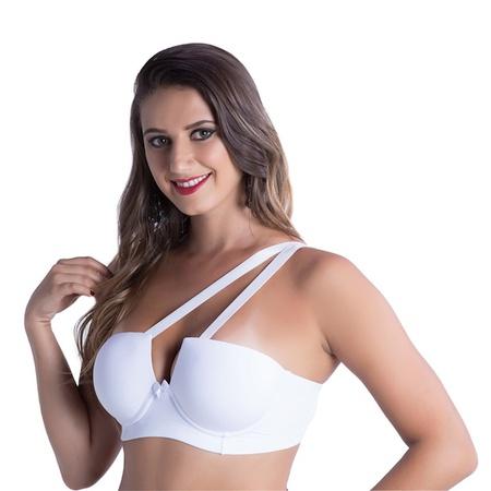 *soutien Duanip Tomara Que Caia Com Bojo Alça Removível (du825) - Branco