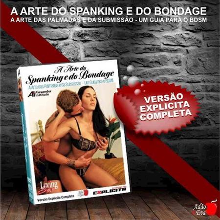 DVD A Arte Do Spanking e Do Bandage (LOV21-ST282) - Padrão