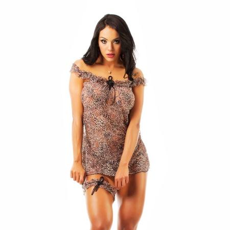 *Camisola Oncinha Chik Estampas Variadas (PS8021) - Padrão