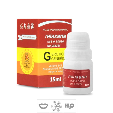 Gel Para Sexo Oral Relaxana 15ml (SL1732) - Maçã Verde
