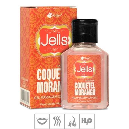 Gel Comestível Jells Hot 30ml (ST106) - Coquetel Morango
