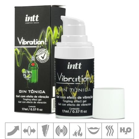 Excitante Unissex Vibration Power 17ml (ST448-ST175) - Gin Tônica