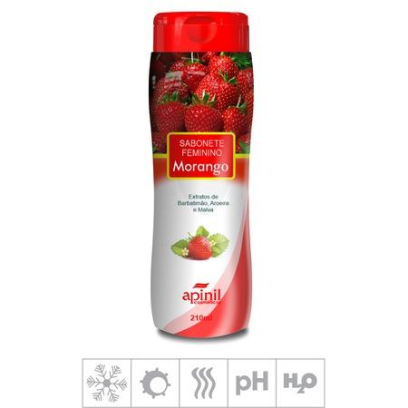 Sabonete Feminino Íntimo Apinil 210ml (ST183) - Morango