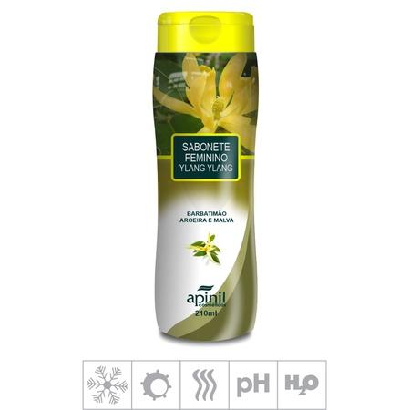 Sabonete Feminino Íntimo Apinil 210ml (ST183) - Ylang-Ylang