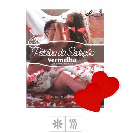 Pétalas da Sedução Formato Coração Vermelho 120un (ST309) - Gabriela Sabatini