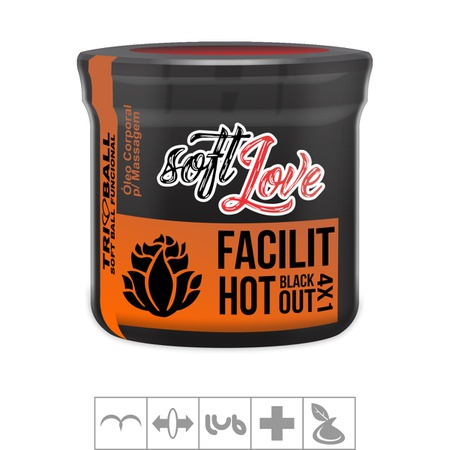 Bolinha Funcional Tri Ball 3un (ST376) - Facilit Hot Blackout