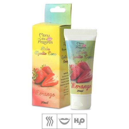 Gel Para Sexo Oral Linha Algodão Doce 20ml (ST651) - Morango