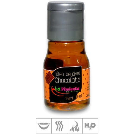 Gel Para Sexo Oral La Pimienta Hot 15ml (st664) - Chocolate