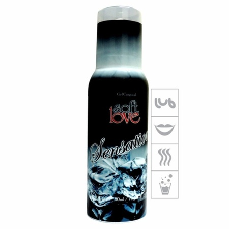 Mousse Efervescente Sensations 80ml (ST559) - Black Ice