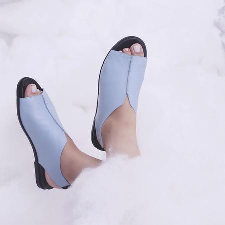 Sandália Confort Nuvem- 843-01 Azul Céu - Universo Bubblē