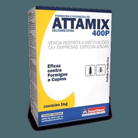 Formicida em pó - Attamix 400P 1Kg - Insetimax - AGROCAC