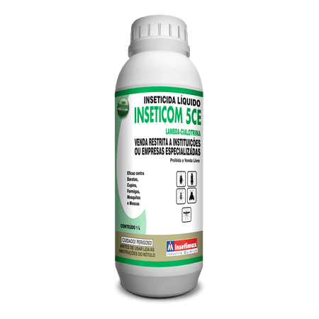 Inseticom 5 CE 1L - Insetimax - AGROCAC