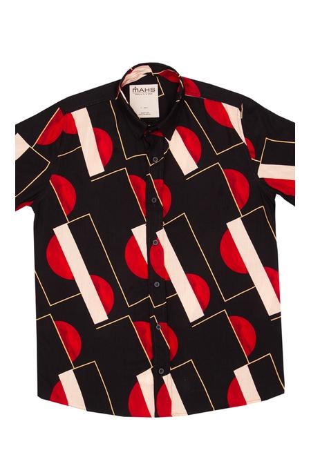Camisa Estampada Geométrica Unissex Arvin - Mahs