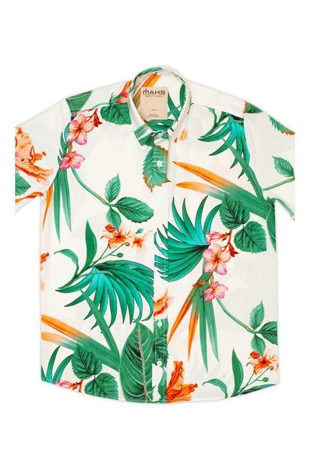 Camisa Floral Isla