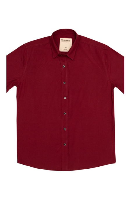 Camisa Visco Confort Vinho