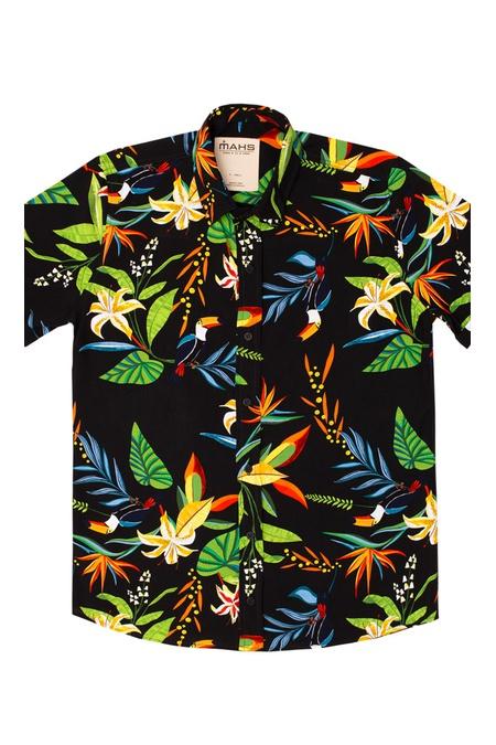 Camisa Floral Dourados