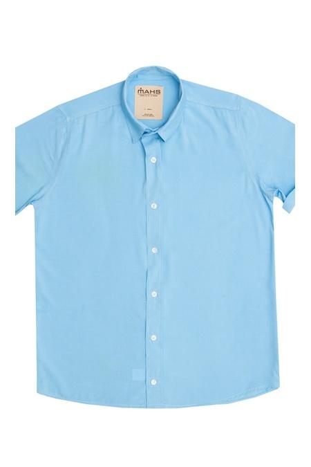 Camisa Visco Confort Azul