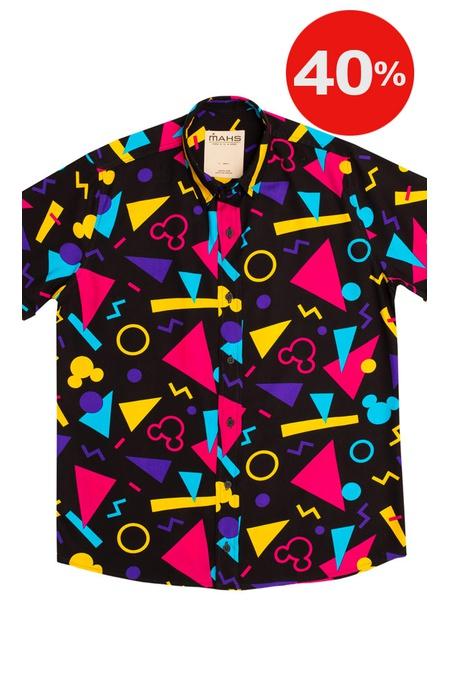 Camisa Geométrica Cowley