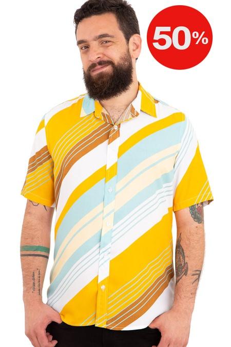 Camisa Listrada Sheffield