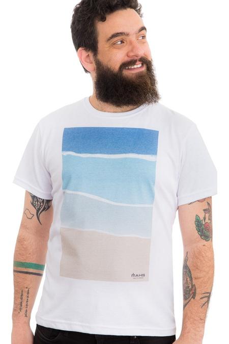 Camiseta Estampada Praia