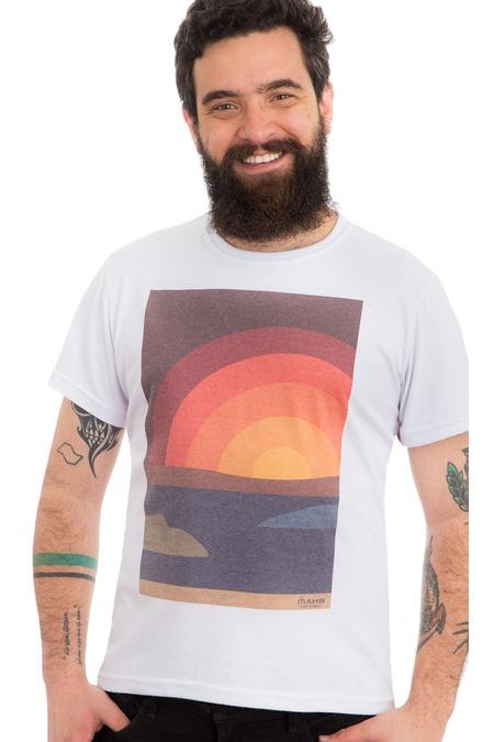 Camiseta Estampada Sun