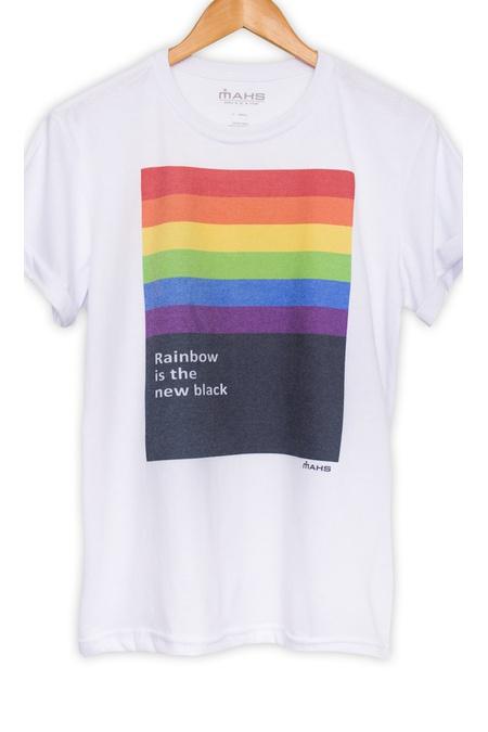 Camiseta Estampada Rainbow