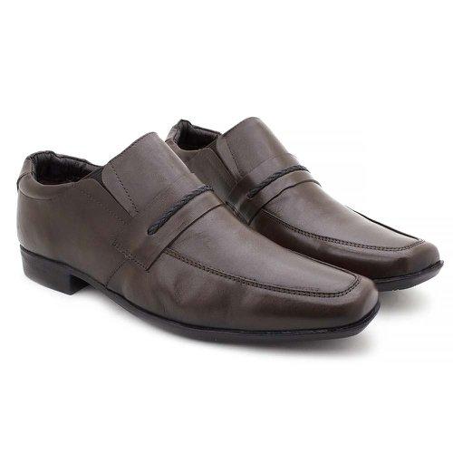 Sapato Masculino Social Fortaleza Couro Café