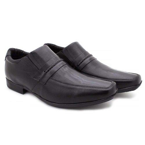 Sapato Masculino Social Fortaleza Couro Preto