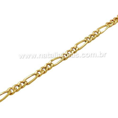 Pulseira de Ouro 18k/750 PL17