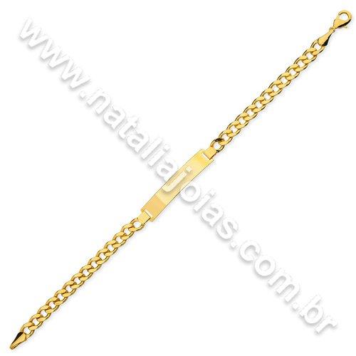 Pulseira de Ouro 18k/750 PL20