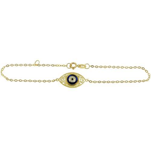 Pulseiras de Ouro 18k com Olho Grego