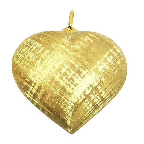 Pingente Dupla face coração em Ouro 18K Diamantado