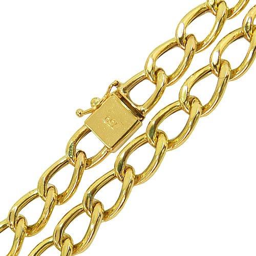 Corrente Masculina de Ouro Elo Fígaro 16,7g