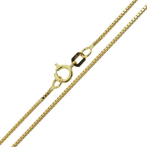Corrente Feminina de Ouro 18K Veneziana 40cm