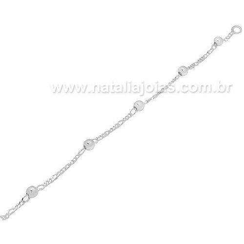 Pulseira de Prata 925 Infantil PL07