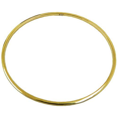 Pulseira argola em Ouro 18k Fio Quadrado