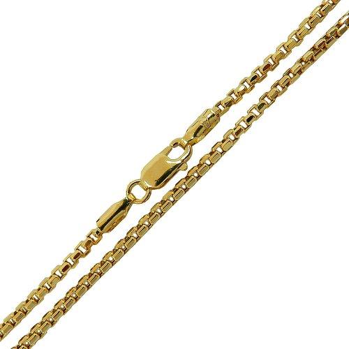 Corrente em Ouro Masculina Design Italiano 60cm