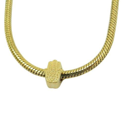 Pingente Pandora em Ouro 18k Mão de Hamsá
