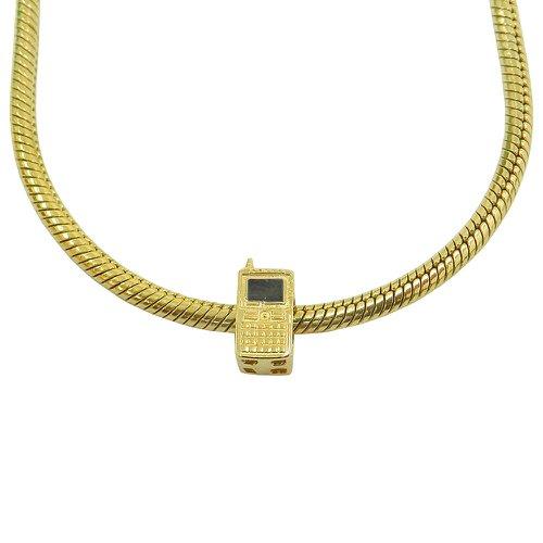 Berloque em Ouro 18k Telefone Celular