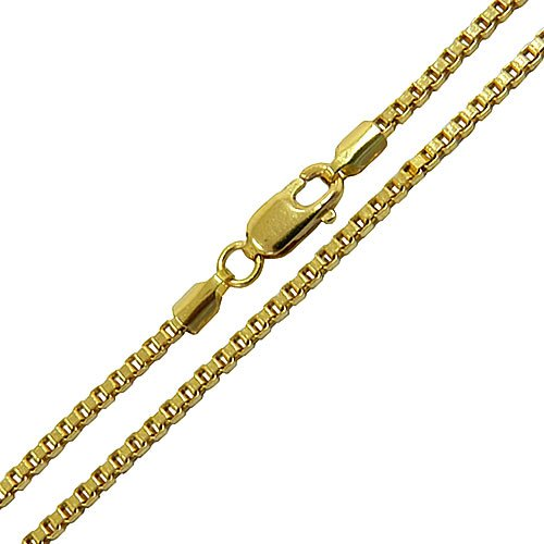 Corrente Veneziana Masculina em Ouro 60cm