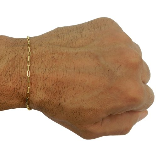 Pulseira em Ouro 18k Masculina Cartier Maciça