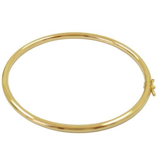 Bracelete em Ouro 18K fio redondo