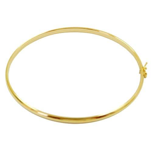 Bracelete em Ouro 18K fio Meia Cana
