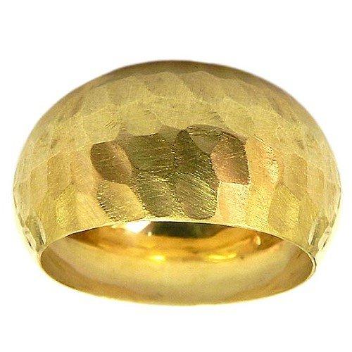 Anel Feminino Largo Ouro 18K Diamantado