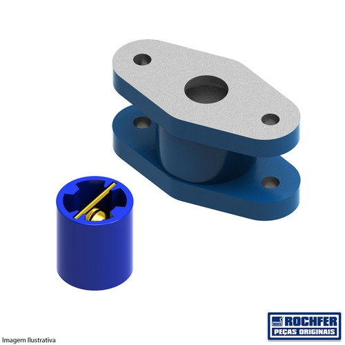 Válvula Simples (Completa) PB-57/PB-70 (1un)