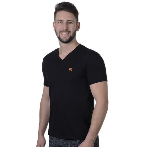Camiseta Masculina Laroche em Algodão - Preto